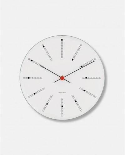 Arne Jacobsen Bankers Clock vægur dia 48 cm - design 1971