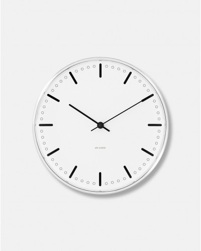 Arne Jacobsen City Hall Wall Clock dia 29 cm - design 1956
