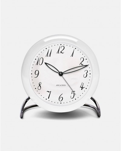 Arne Jacobsen LK Table Clock with Alarm - designed 1939