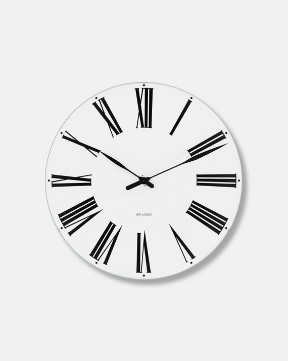 Arne Jacobsen Roman Wall Clock dia 48 cm - design 1942