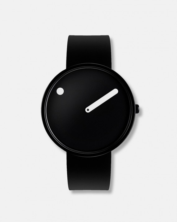 Picto armbåndsur sort skive dia 40 mm - design 1984