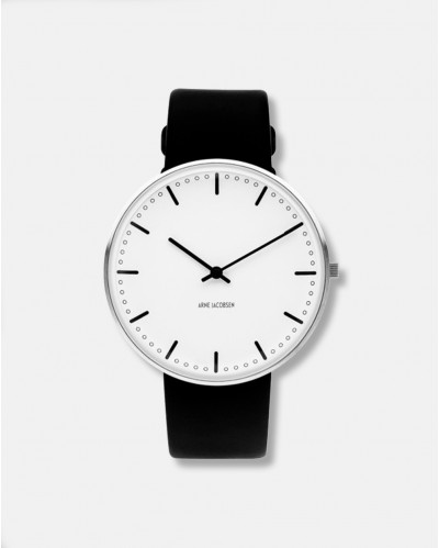 Arne Jacobsen City Hall Wrist Clock dia 40 mm