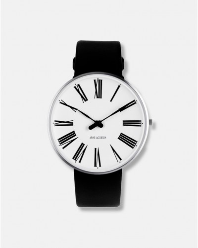 Arne Jacobsen Roman Clock Wrist Watch dia 40 mm - design 1942