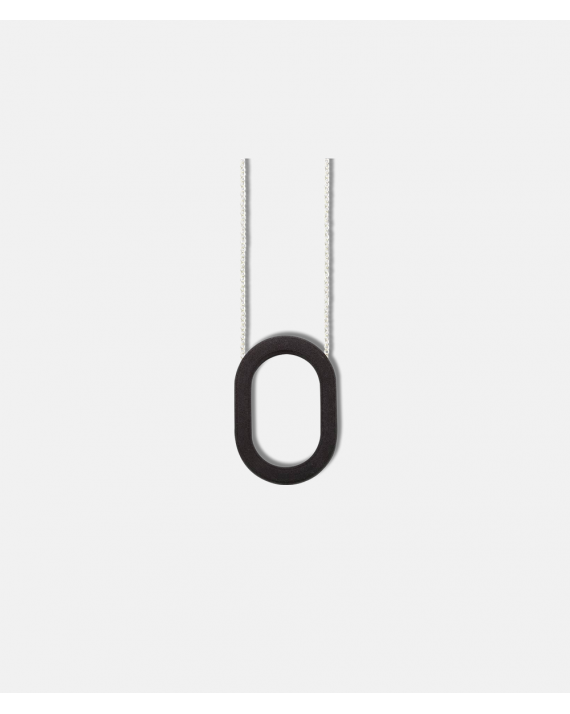OLA 3D Framed Collection O Necklace
