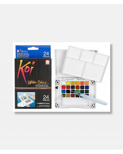Koi water color sketch box 24