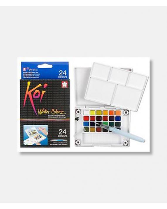 Koi water color sketch box 24