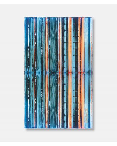 Chalk, Sugar and Pigment silketørklæde - blå 180 x 109 cm