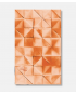 Folded Paper silketørklæde 108 x cm