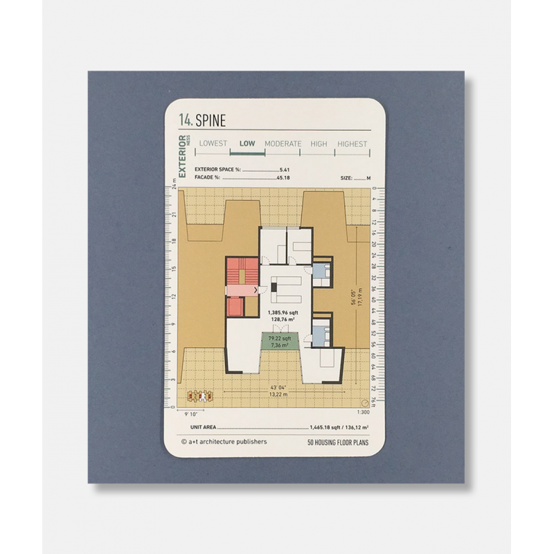 ... 50 Housing Floor Plans (Cards) ...
