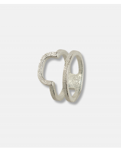 OLA 3D Oval Collection Ring 2
