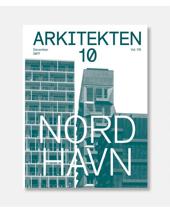 Arkitekten 10 2018 Nordhavn plakat