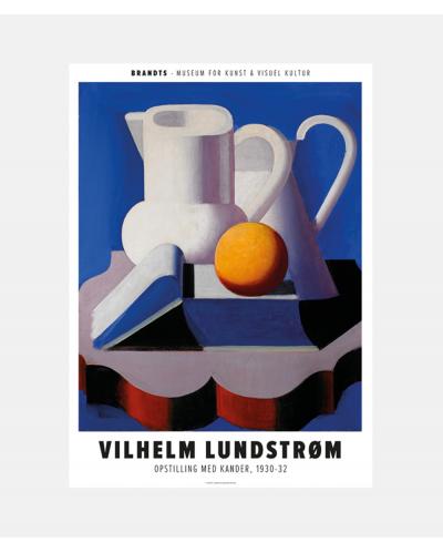 Vilhelm Lundstrøm: Opstilling med kander