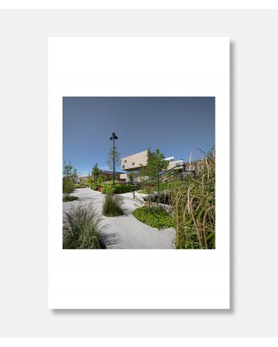 Bypark og bibliotek - arkitekturfotografier af Jens Markus Lindhe