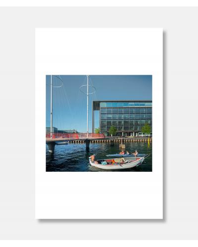 Cirkelbroen - arkitekturfotografi af Jens Markus Lindhe