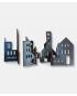 Silhuet - Byg en by og puslespil