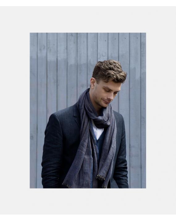 Hørtørklæde Bjørk - design Margit K