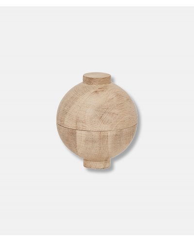 Wooden Sphere oak