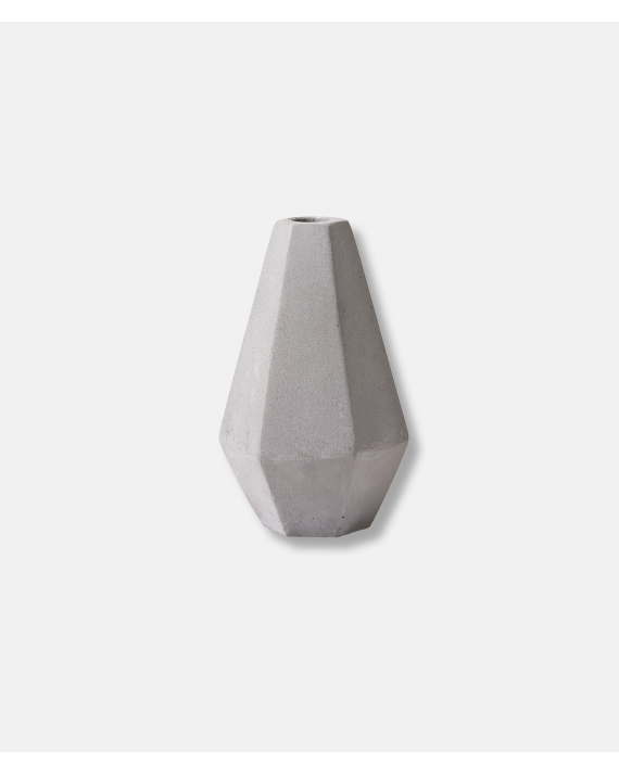 Concrete Candle Holder - tall