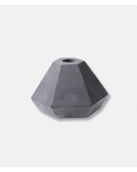Concrete Candlelight Holder - Low