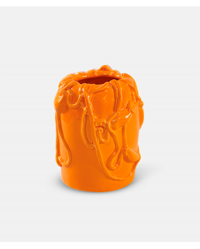 Michael Kvium vase Persimmon Orange