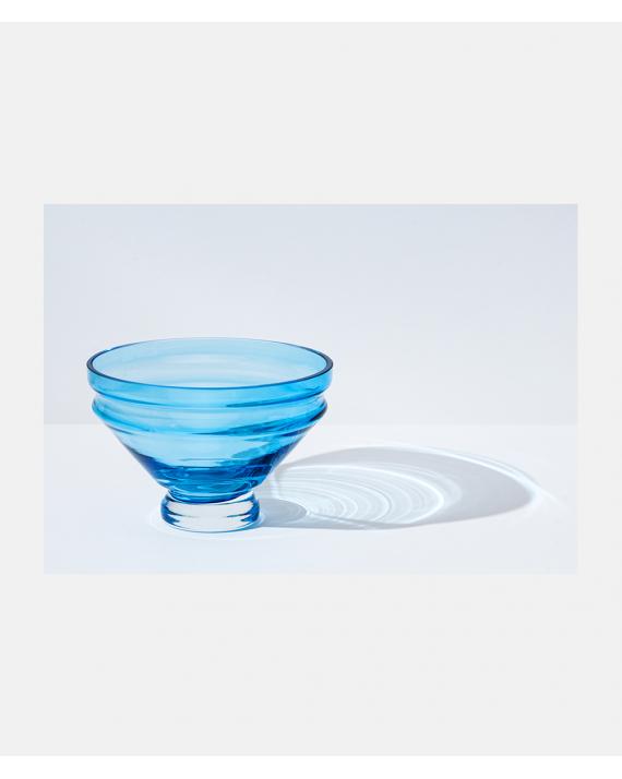 Raawii Relæ small bowl aquamarine blue