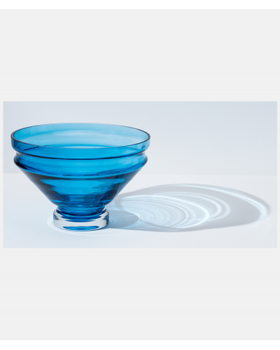 Raawii Relæ large bowl Aquamarine Blue