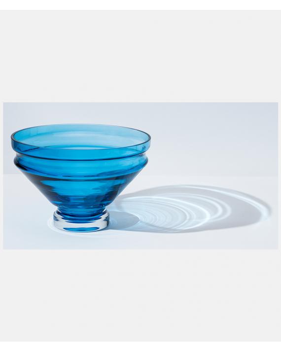 Raawii Relæ large bowl Aquamarine Blue
