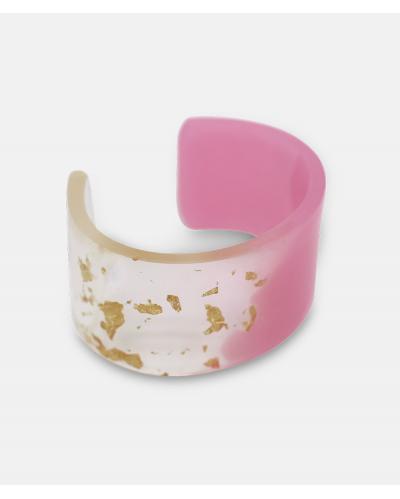 Amanda Linde Double Bracelet B pink 22CT gold