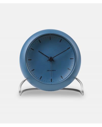 Arne Jacobsen City Clock bordur - Stone Blue