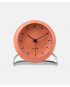 Arne Jacobsen City Hall Table Clock - pale orange