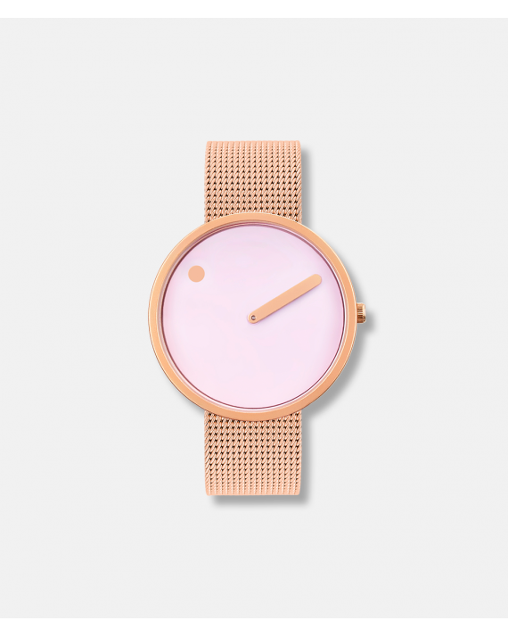 Picto dusty rose pink mat rosa gold