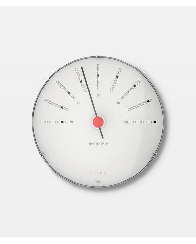 Arne Jacobsen Bankers Hygrometer Ø 12 cm