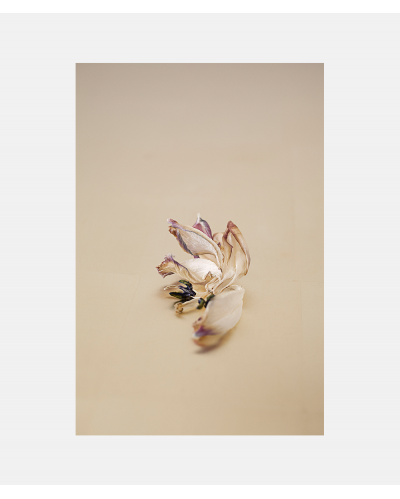 Laura Stamer Fadede Flowers Gold