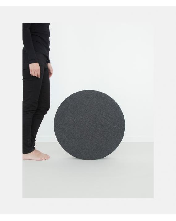 Move me - Wide Cushion Granite Grey