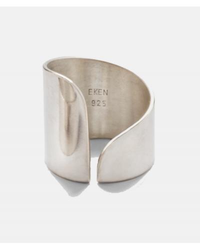 Slowdive sølvring high - Michala Eken
