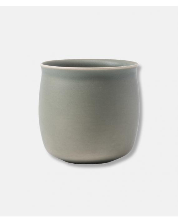 Alev Vase 01 Olive Green