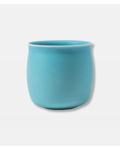 Alev Vase 01 Azure Blue