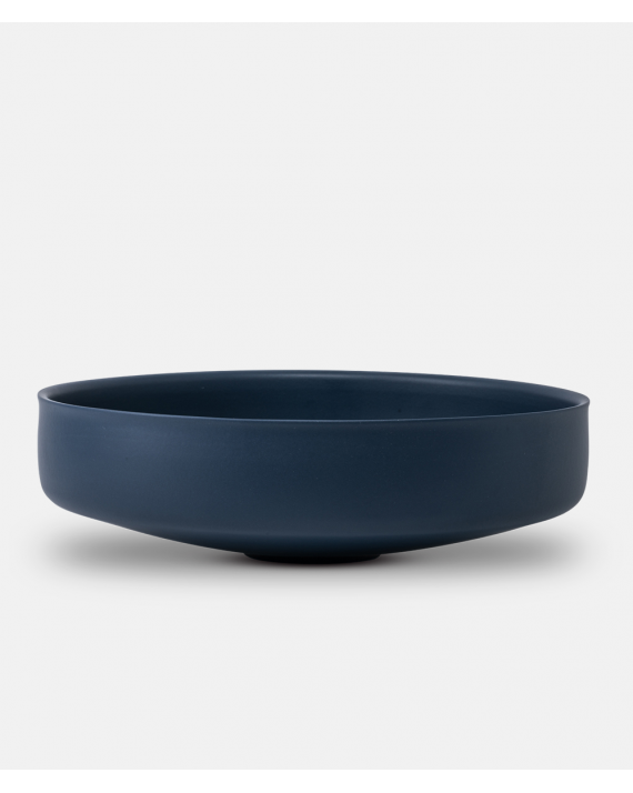 Alev Bowl - large - Twilight Blue