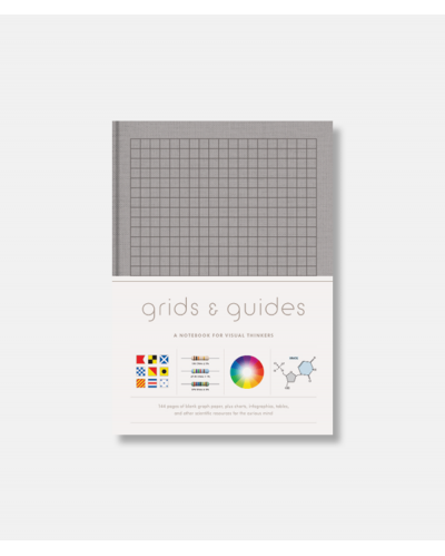 Grids and Guides - Notebook for Visual Thinkers - Grey