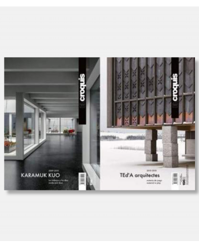 El Croquis 196: Karamuk Kuo and Ted'a Arquiteces (2 Volumes)