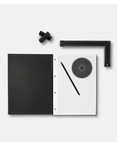 ARCHIMETRIC - millimeters sketchbook + instruments (tools)