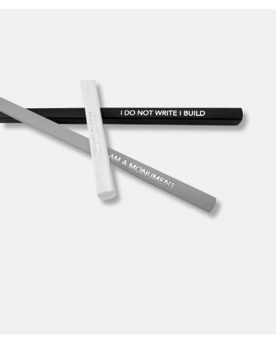 Archiquote - 3 graphite pencils with quote