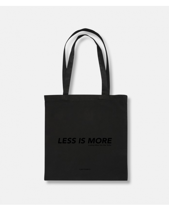 Architect Totebag Less is More