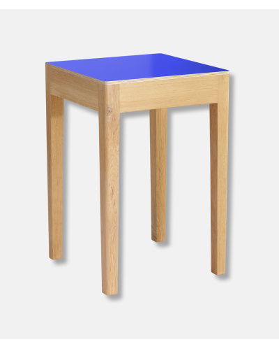Kabo Blue Fishermans Stool - A Seat in Siena
